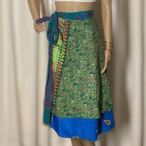 Dresses & Skirts - Reversible Silk Magic Skirt.